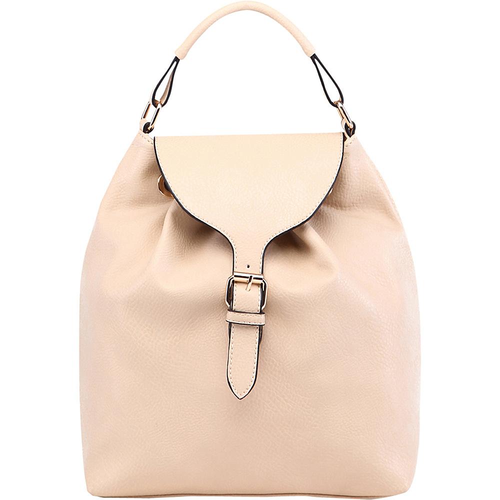 MKF Collection by Mia K. Farrow Romey Back to School Backpack Beige - MKF Collection by Mia K. Farrow Manmade Handbags - Handbags, Manmade Handbags