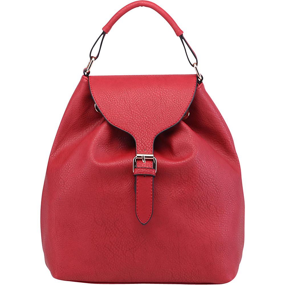 MKF Collection by Mia K. Farrow Romey Back to School Backpack Red - MKF Collection by Mia K. Farrow Manmade Handbags - Handbags, Manmade Handbags
