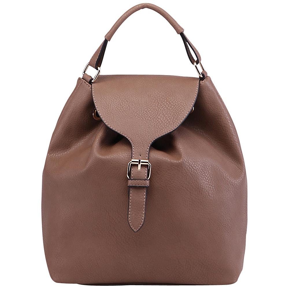 MKF Collection Romey Back to School Backpack Khaki - MKF Collection Manmade Handbags - Handbags, Manmade Handbags