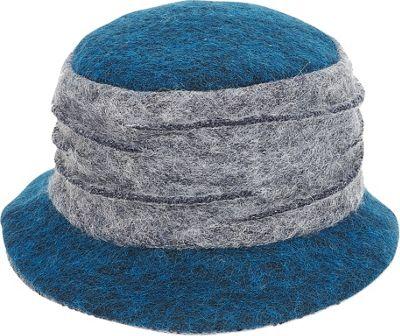 Adora Hats Wool Bucket Hat One Size - Blue - Adora Hats Hats/Gloves/Scarves
