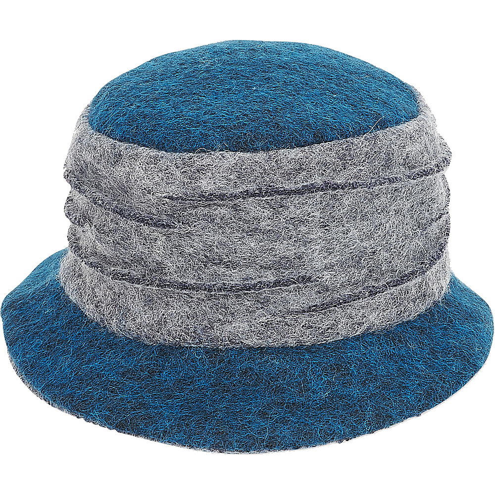 Adora Hats Wool Bucket Hat Blue Adora Hats Hats Gloves Scarves
