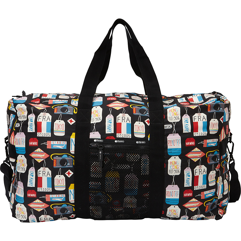 LeSportsac Travel Large Global Weekender Boarding Pass T LeSportsac Travel Duffels