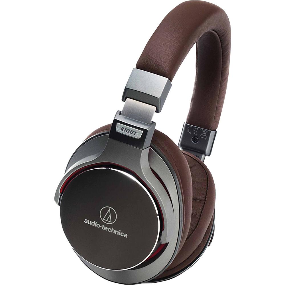 Audio Technica ATH MSR7GM SonicPro Over Ear High Resolution Audio Headphones Gun Metal Audio Technica Headphones Speakers