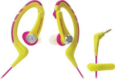 Audio Technica ATH-SPORT1NY  SonicSport In-ear Headphones Yellow - Audio Technica Headphones & Speakers