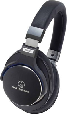 Audio Technica SonicPro Over-Ear High-Resolution Audio Headphones with In-Line Controls and Mic Black - Audio Technica Headphones & Speakers