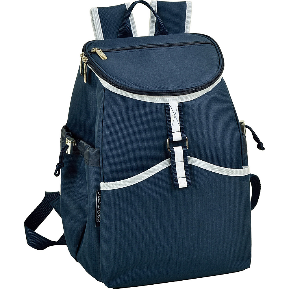 Picnic at Ascot Insulated Backpack Cooler Navy - Picnic at Ascot Outdoor Coolers - Outdoor, Outdoor Coolers