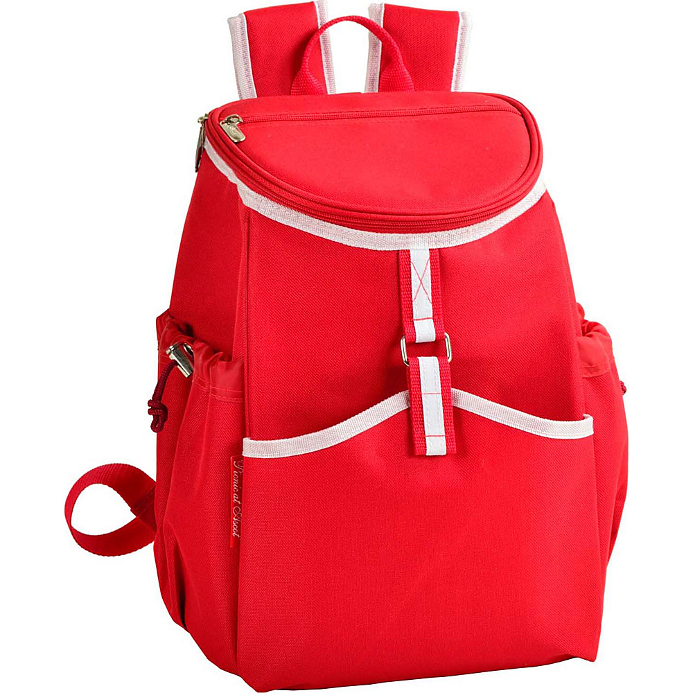 Picnic at Ascot Insulated Backpack Cooler Red - Picnic at Ascot Outdoor Coolers - Outdoor, Outdoor Coolers