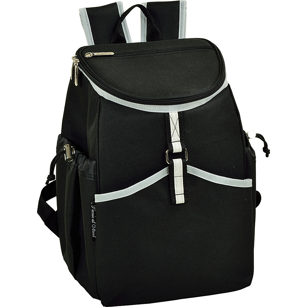 Picnic at Ascot Insulated Backpack Cooler Black - Picnic at Ascot Outdoor Coolers - Outdoor, Outdoor Coolers