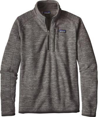 Patagonia Mens Better Sweater 1/4 Zip XS - Nickel - Patagonia Men's Apparel