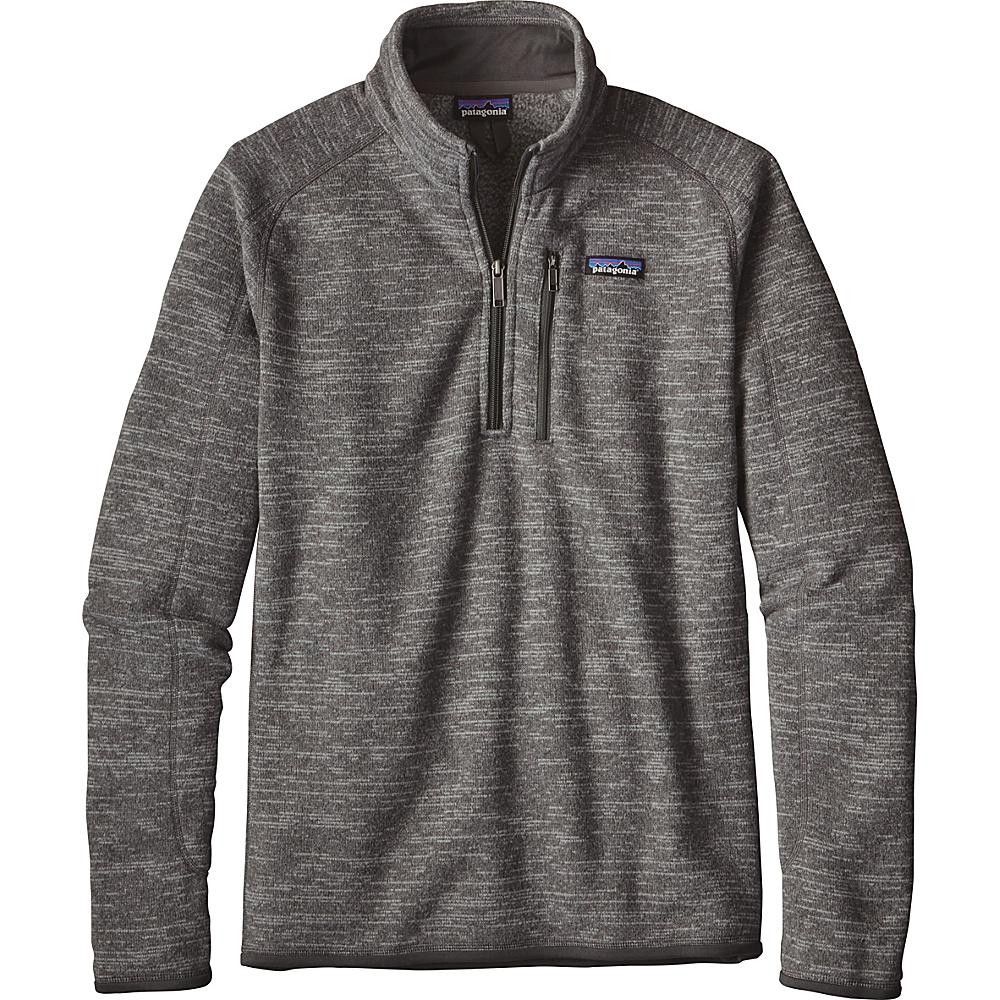 Patagonia Mens Better Sweater 1/4 Zip M - Nickel - Patagonia Mens Apparel - Apparel & Footwear, Men's Apparel
