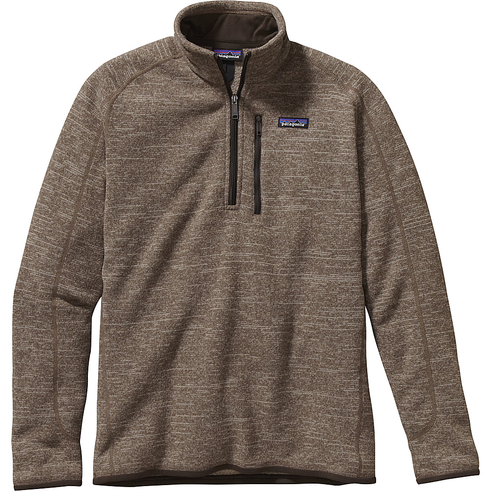 Patagonia Mens Better Sweater 1/4 Zip XS - Pale Khaki - Patagonia Mens Apparel - Apparel & Footwear, Men's Apparel