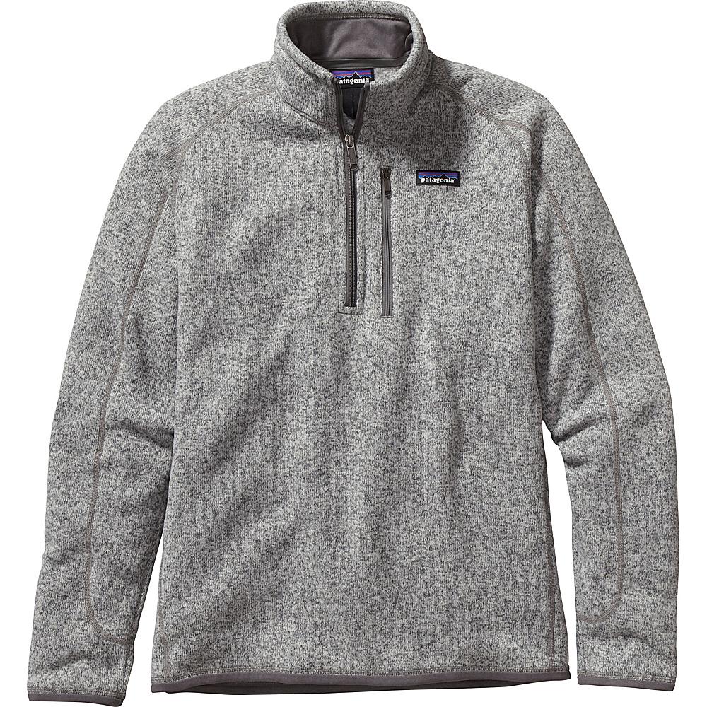 Patagonia Mens Better Sweater 1/4 Zip XS - Stonewash - Patagonia Mens Apparel - Apparel & Footwear, Men's Apparel