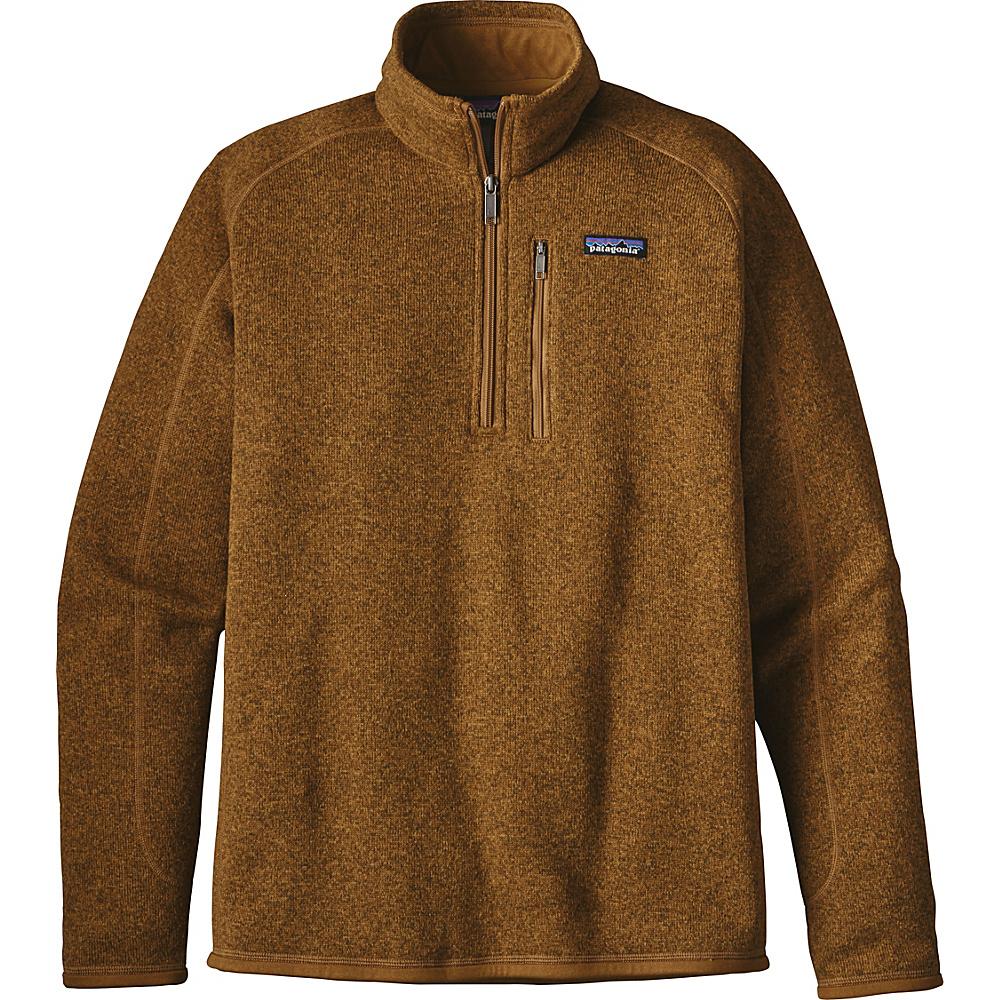 Patagonia Mens Better Sweater 1/4 Zip XS - Tapenade - Patagonia Mens Apparel - Apparel & Footwear, Men's Apparel