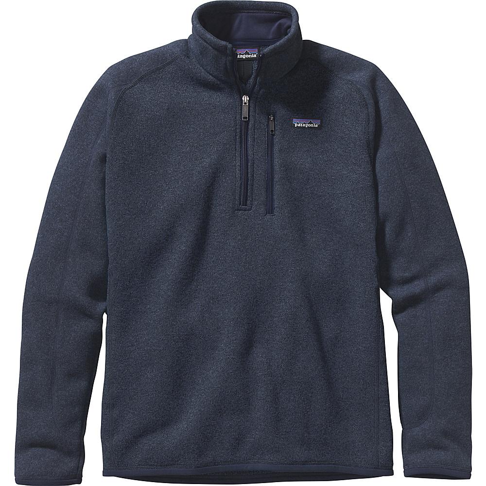 Patagonia Mens Better Sweater 1/4 Zip XS - Classic Navy - Patagonia Mens Apparel - Apparel & Footwear, Men's Apparel