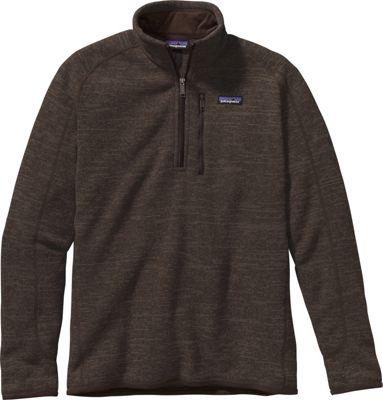 Patagonia Mens Better Sweater 1/4 Zip XS - Dark Walnut - ...