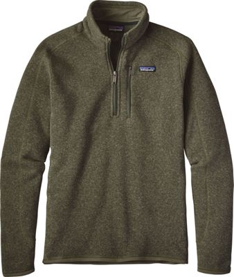 Patagonia Mens Better Sweater 1/4 Zip XS - Industrial Gre...