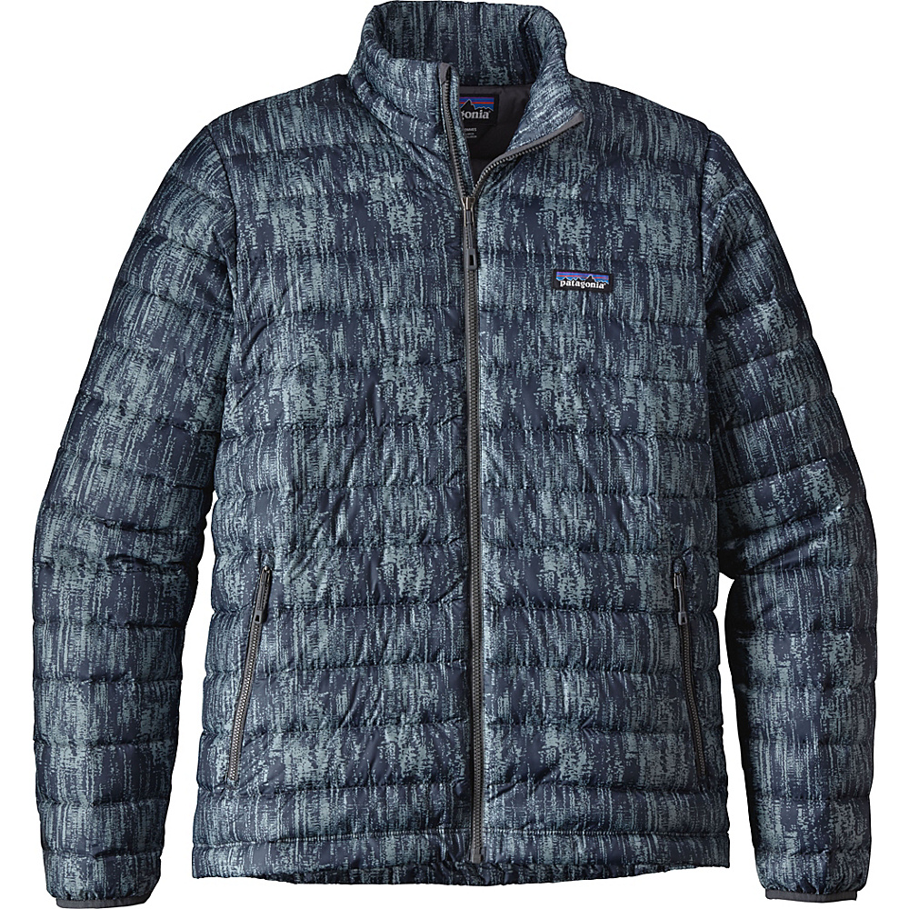 Patagonia Mens Down Jacket S - Reflection: Forge Grey - Patagonia Mens Apparel - Apparel & Footwear, Men's Apparel
