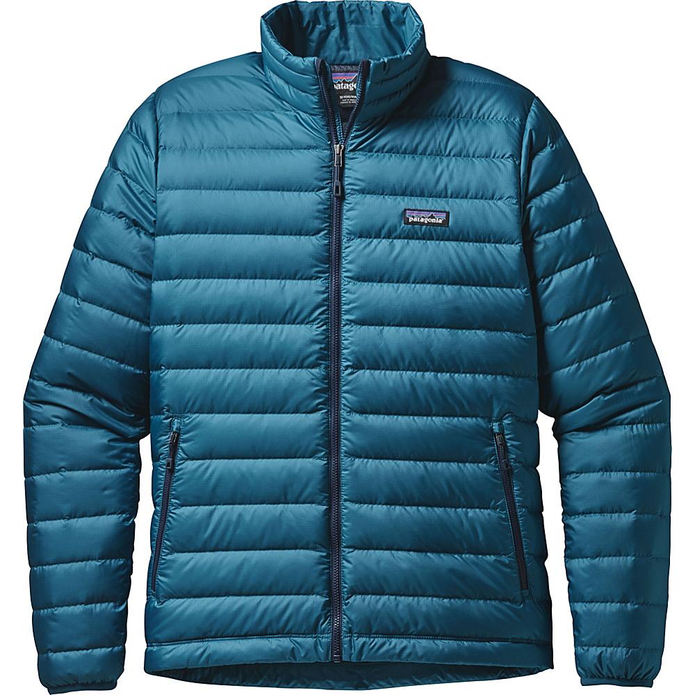 Patagonia Mens Down Jacket XS - Deep Sea Blue - Patagonia Mens Apparel - Apparel & Footwear, Men's Apparel