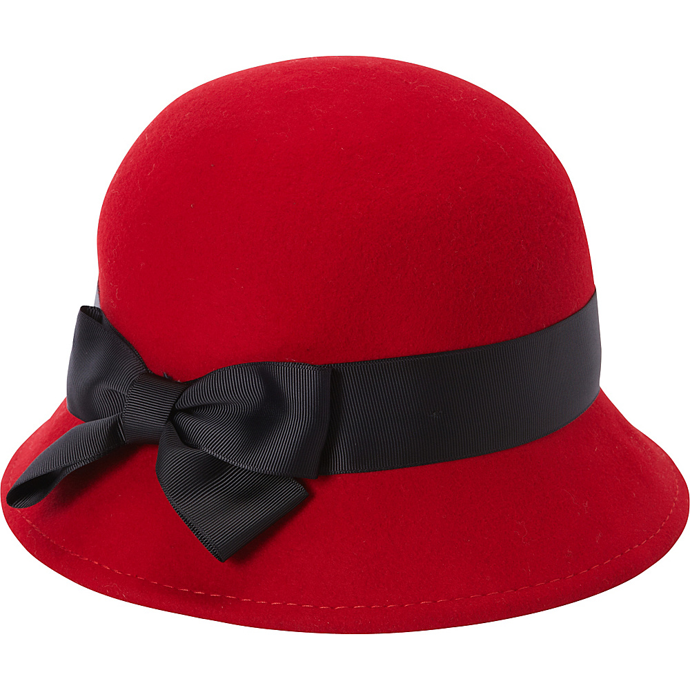 Betmar New York Emma Cloche One Size - Scarlet - Betmar New York Hats/Gloves/Scarves