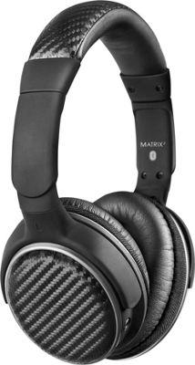 MEE Audio Matrix2 AF62 Stereo Bluetooth Wireless Headphones with Headset Functionality Black - MEE Audio Headphones & Speakers
