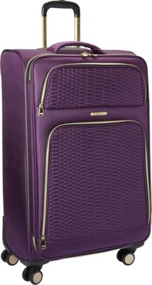 Aimee Kestenberg Florence Collection 28 inch Upright Plum - Aimee Kestenberg Softside Checked