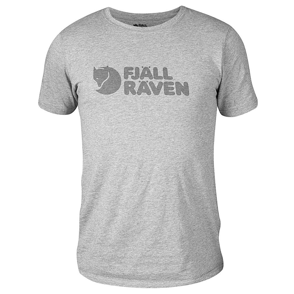 Fjallraven Logo T-Shirt XL - Grey - Fjallraven Mens Apparel - Apparel & Footwear, Men's Apparel