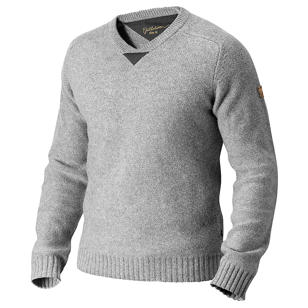 Fjallraven Woods Sweater S - Grey - Fjallraven Womens Apparel - Apparel & Footwear, Women's Apparel