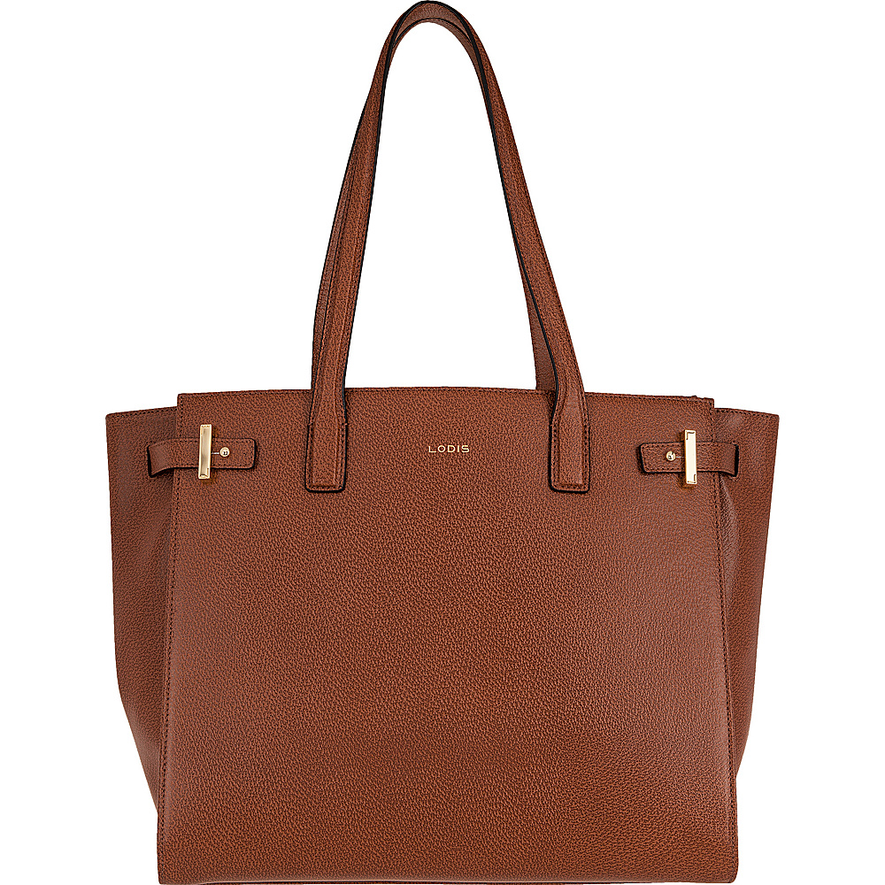 Lodis Stephanie Under Lock and Key Jem Multi Function Tote Chestnut - Lodis Leather Handbags - Handbags, Leather Handbags
