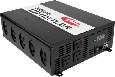 Whistler Group XP2000i 1200-Watt Power Inverter Black - Whistler Group Car Travel