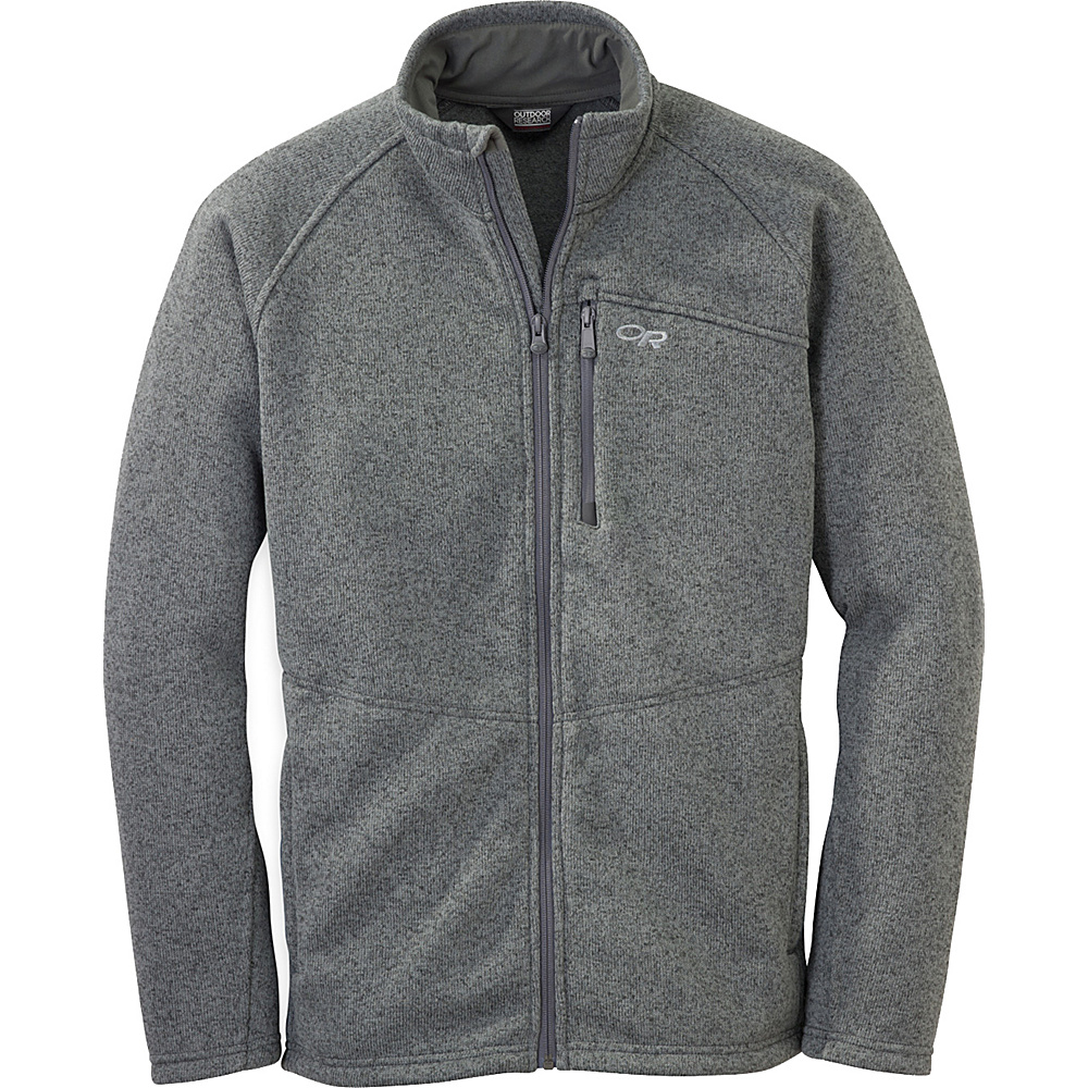 Outdoor Research Longhouse Jacket M - Charcoal - Outdoor Research Mens Apparel - Apparel & Footwear, Men's Apparel