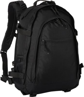 Fox Outdoor Discreet Covert-Ops Pack Black - Fox Outdoor Day Hiking Backpacks