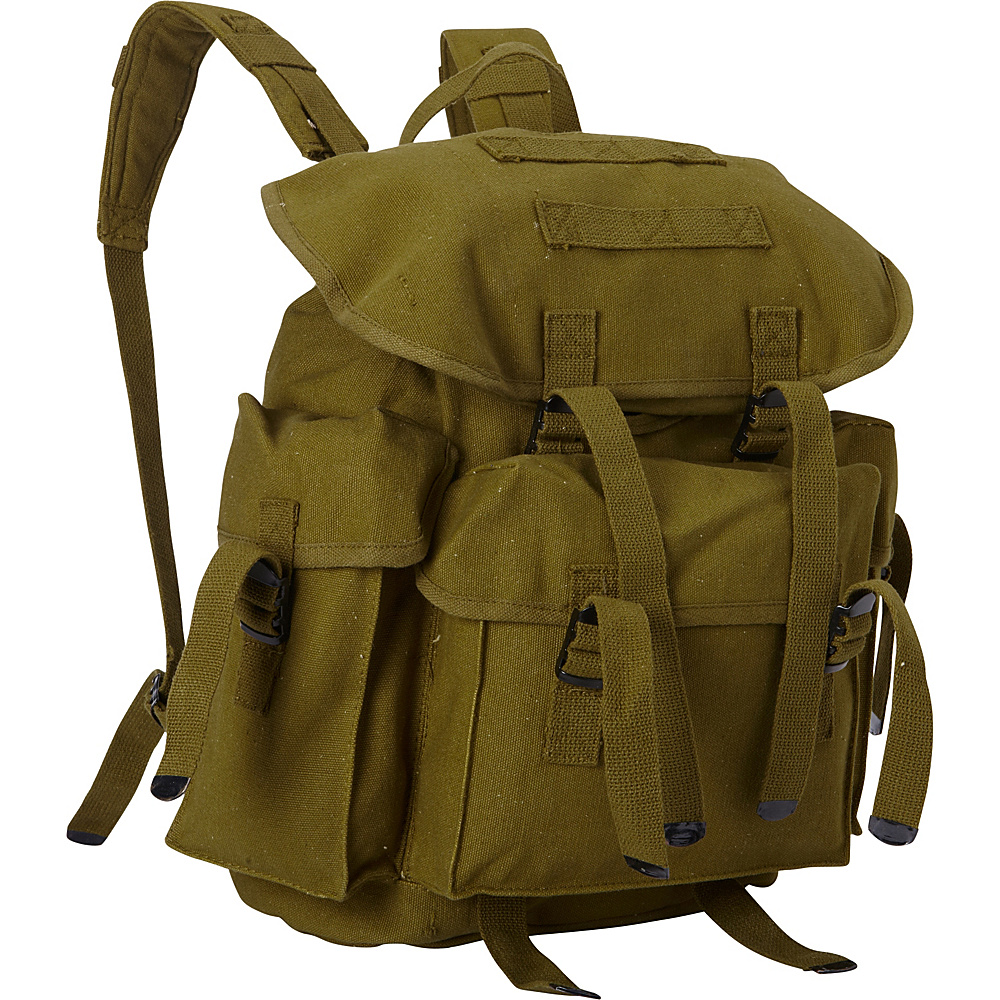 Fox Outdoor Medium NATO Style Rucksack Olive Drab - Fox Outdoor Everyday Backpacks