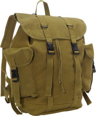 Fox Outdoor German Style Alpine Rucksack Olive Drab - Fox Outdoor Everyday Backpacks