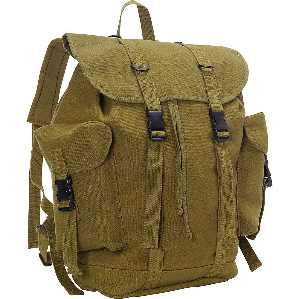 Fox Outdoor German Style Alpine Rucksack Olive Drab - Fox Outdoor Everyday Backpacks