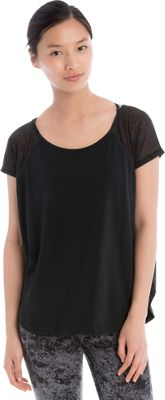 Lole Mukhala Top S - Black - Lole Women's Apparel