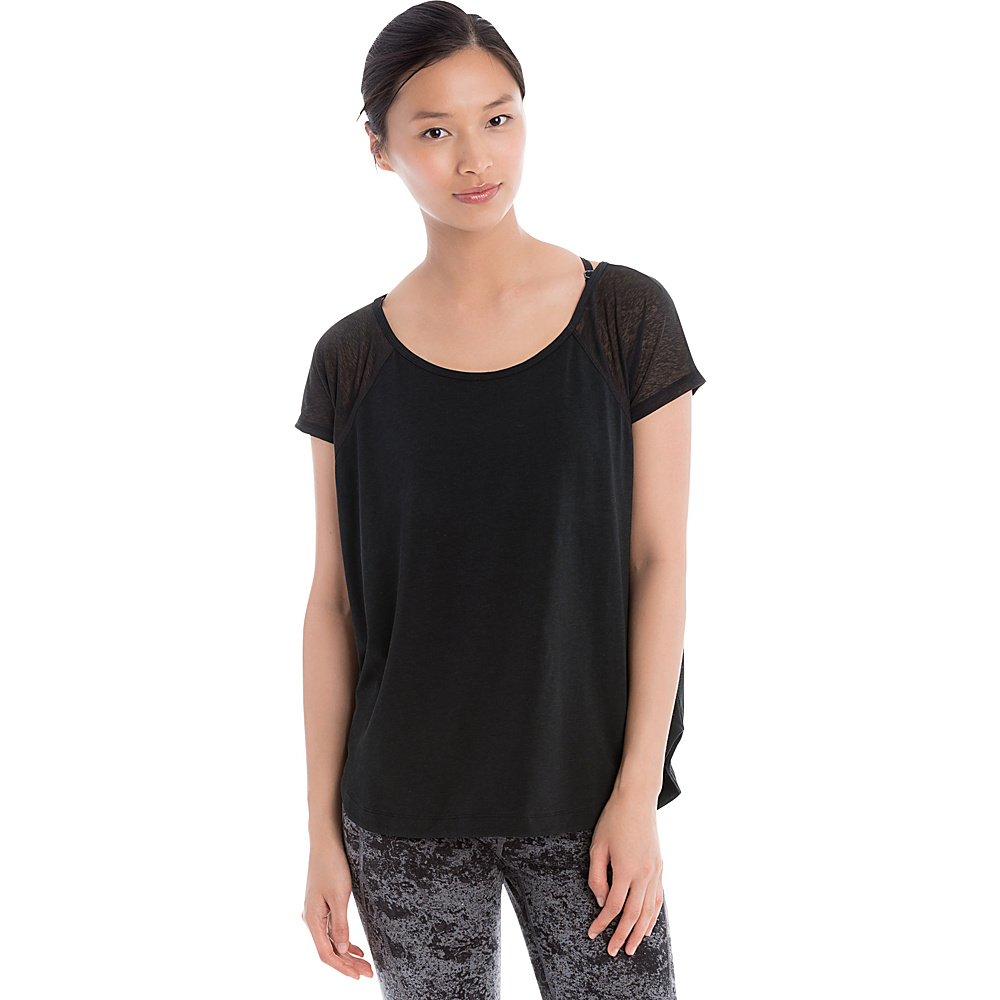 Lole Mukhala Top S - Black - Lole Womens Apparel - Apparel & Footwear, Women's Apparel