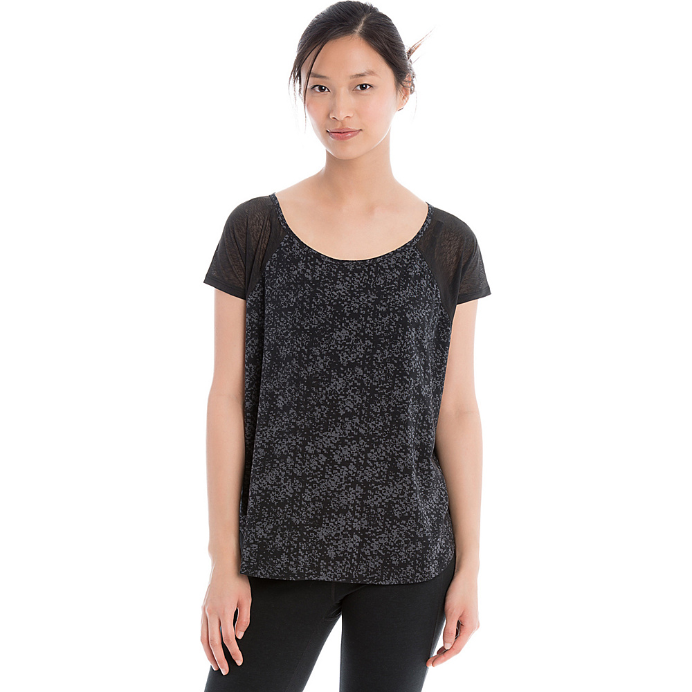 Lole Mukhala Top XS - Black Cityscape - Lole Womens Apparel - Apparel & Footwear, Women's Apparel