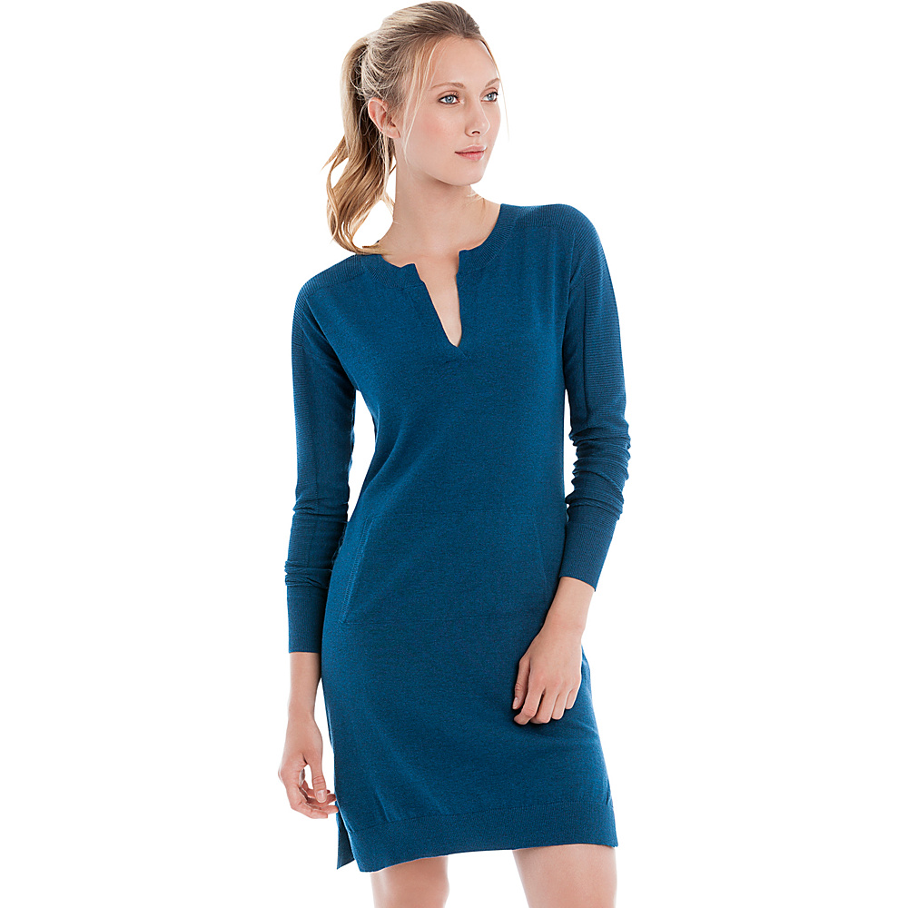 Lole Mara Dress S - Dark Marine Heather - Lole Womens Apparel - Apparel & Footwear, Women's Apparel