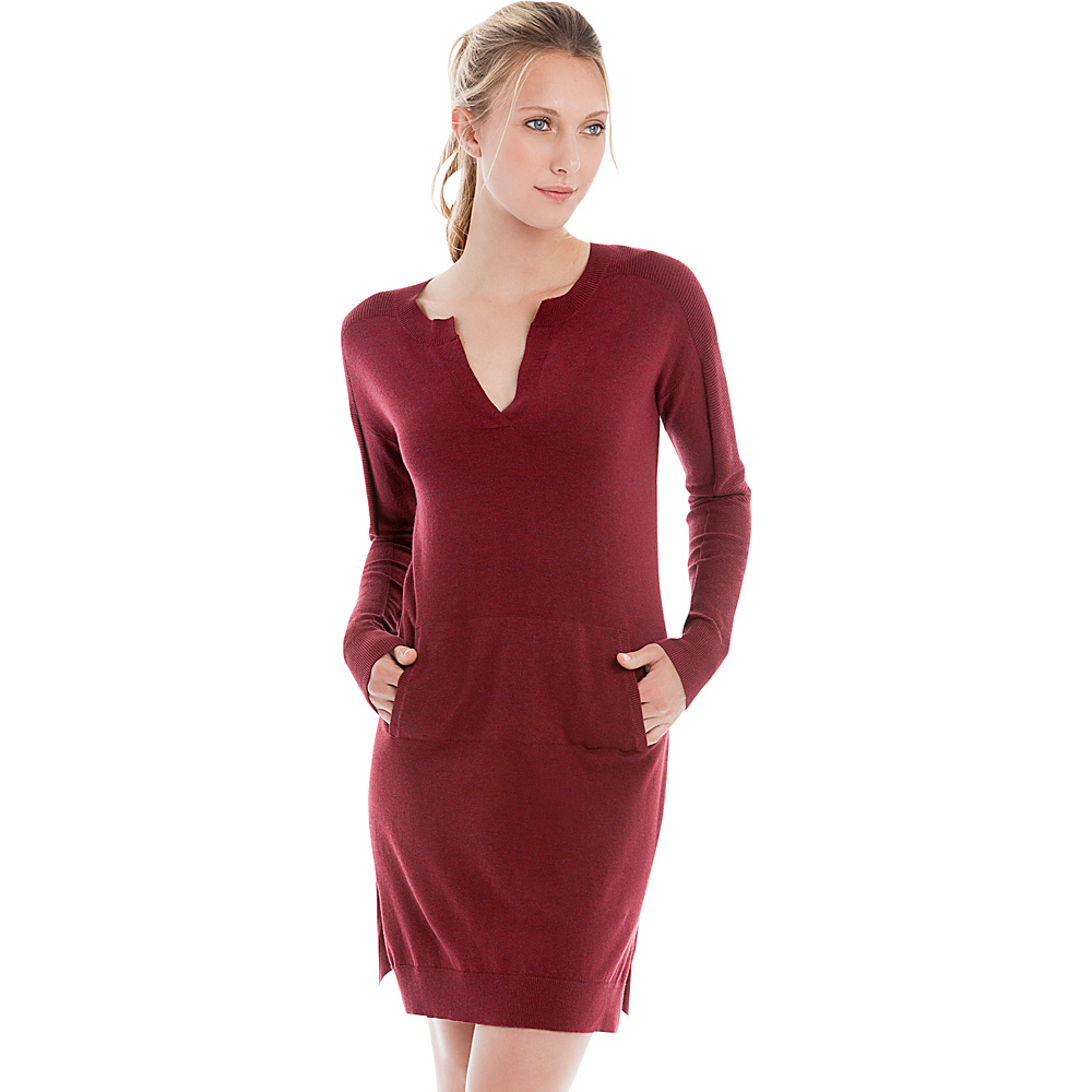 Lole Mara Dress M - Rumba Red Heather - Lole Womens Apparel - Apparel & Footwear, Women's Apparel