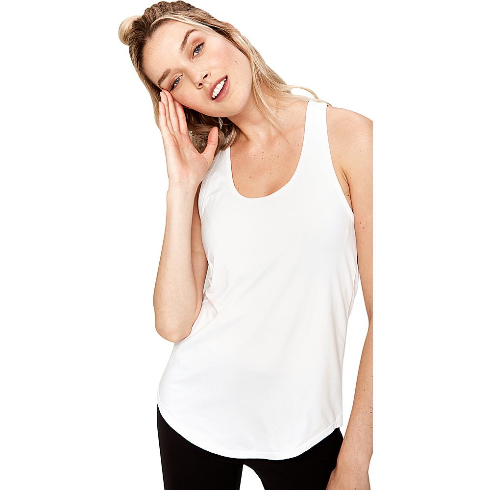 Lole Fancy Tank XL - White - Lole Womens Apparel - Apparel & Footwear, Women's Apparel
