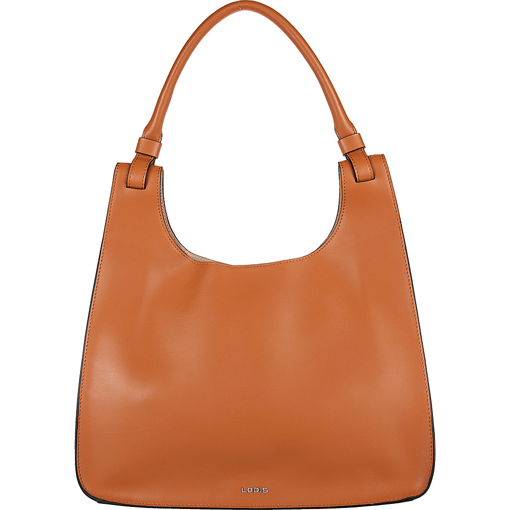 Lodis Blair Dara Hobo Toffee/Taupe - Lodis Leather Handbags - Handbags, Leather Handbags