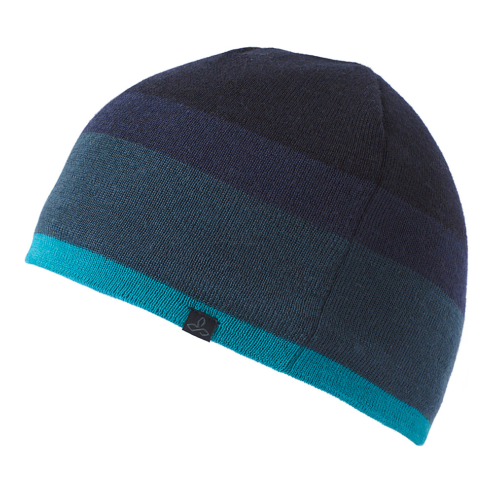 PrAna Theo Beanie One Size - River Rock Blue - PrAna Hats/Gloves/Scarves - Fashion Accessories, Hats/Gloves/Scarves
