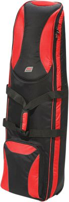 Andare Battalion Softside Wheeled Golf Set Travel Cover Red/ Black - Andare Golf Bags