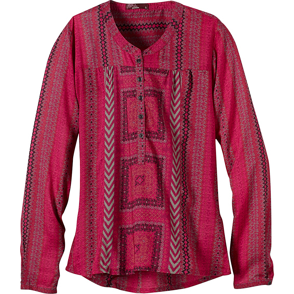 PrAna Inka Top S - Vivid Viola - PrAna Womens Apparel - Apparel & Footwear, Women's Apparel