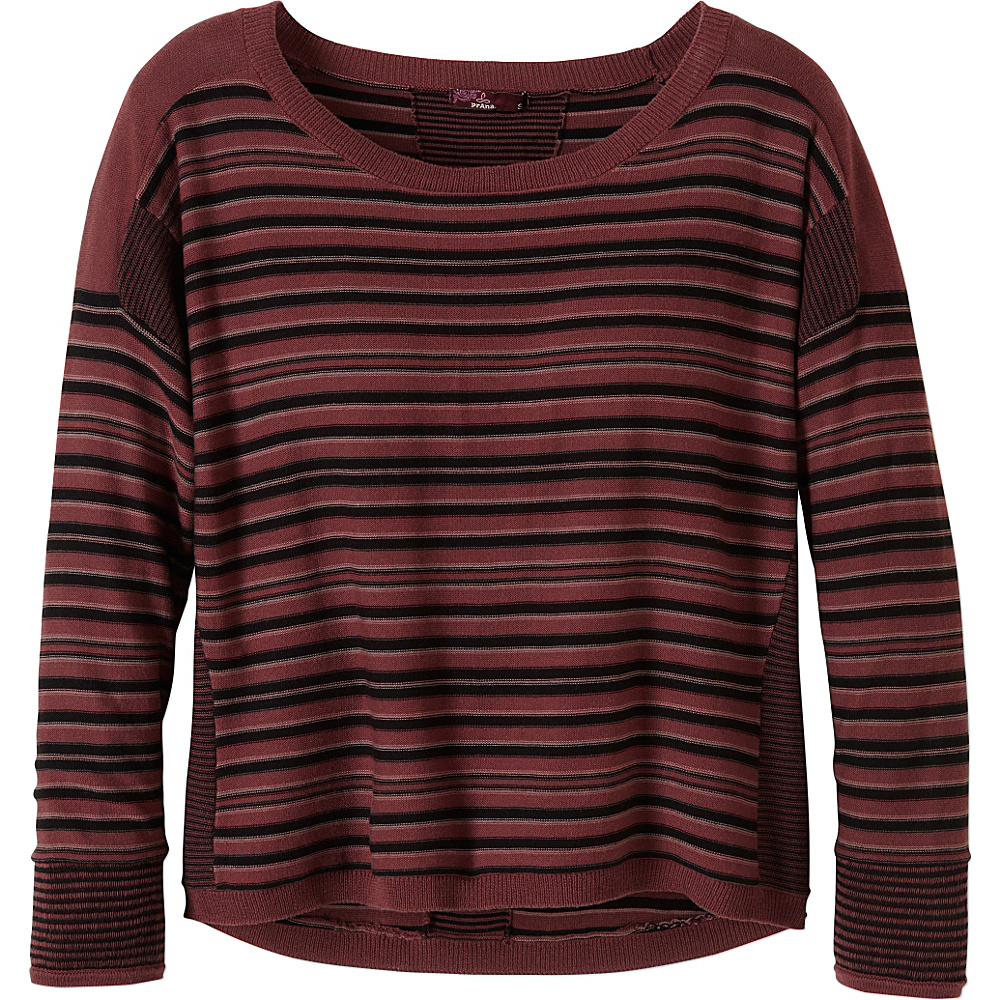 PrAna Whitley Sweater XS - Burgundy - PrAna Womens Apparel - Apparel & Footwear, Women's Apparel