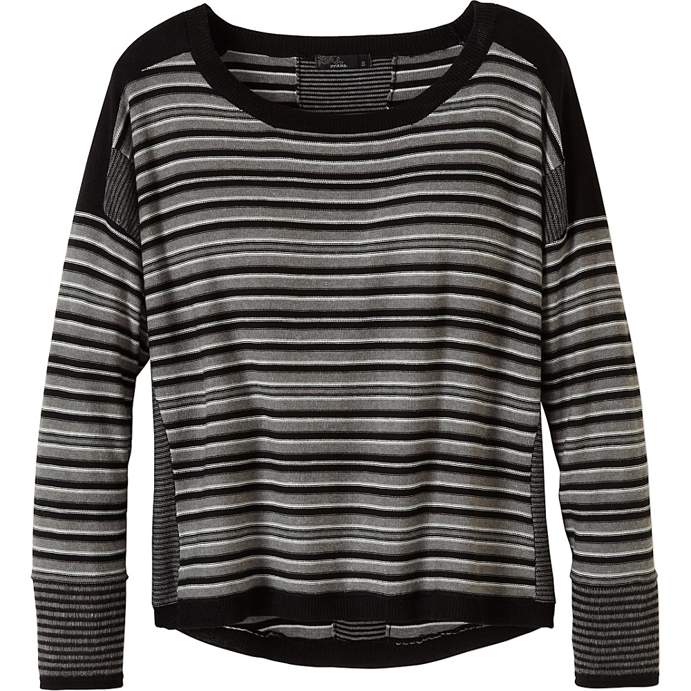 PrAna Whitley Sweater XS - Black - PrAna Womens Apparel - Apparel & Footwear, Women's Apparel