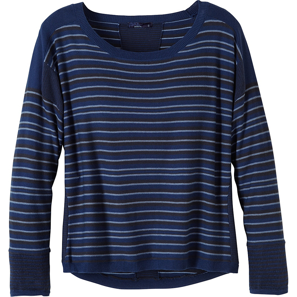 PrAna Whitley Sweater XS - Dark Cobalt - PrAna Womens Apparel - Apparel & Footwear, Women's Apparel