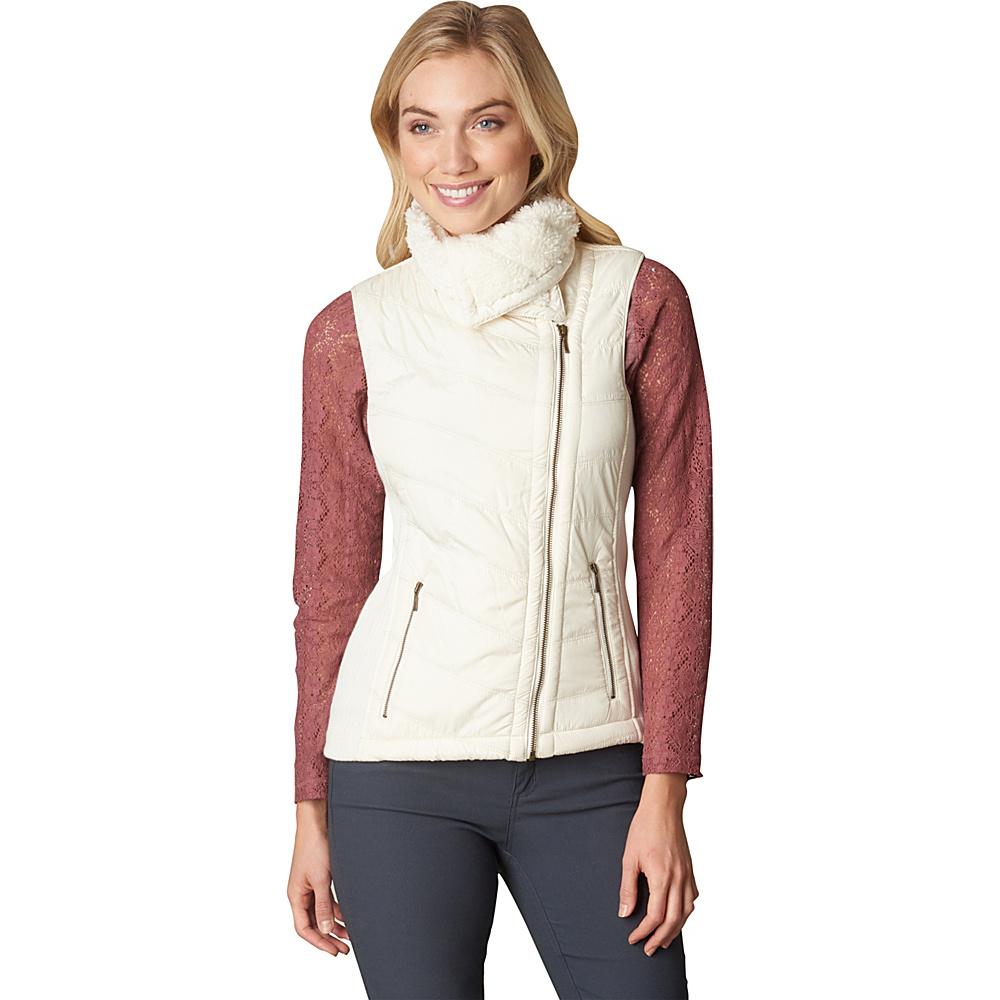 PrAna Diva Vest S - White - PrAna Womens Apparel - Apparel & Footwear, Women's Apparel