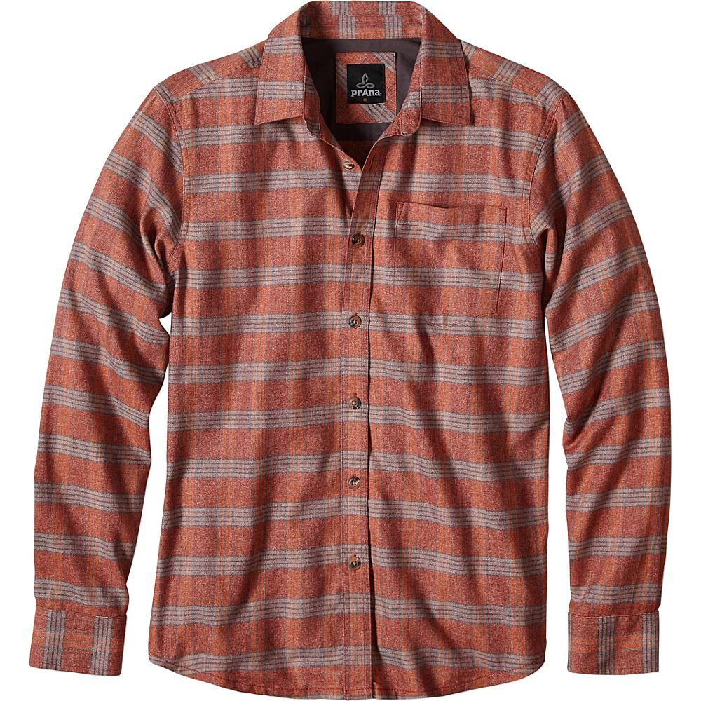 PrAna Alabaster Shirt M - Raisin - PrAna Mens Apparel - Apparel & Footwear, Men's Apparel