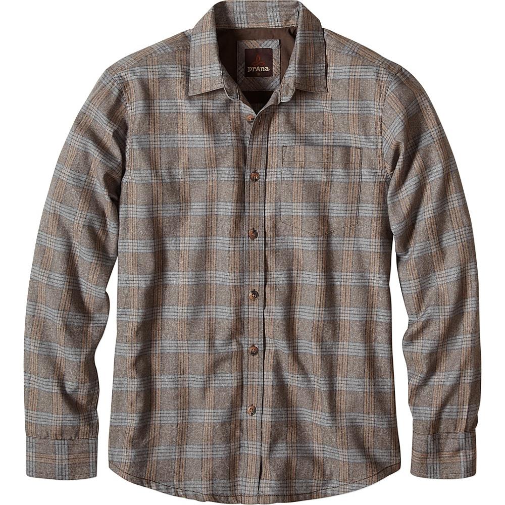 PrAna Alabaster Shirt XL - Mud - PrAna Mens Apparel - Apparel & Footwear, Men's Apparel